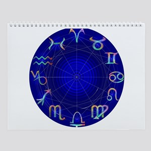 Astrology Wheel Wall Calendar